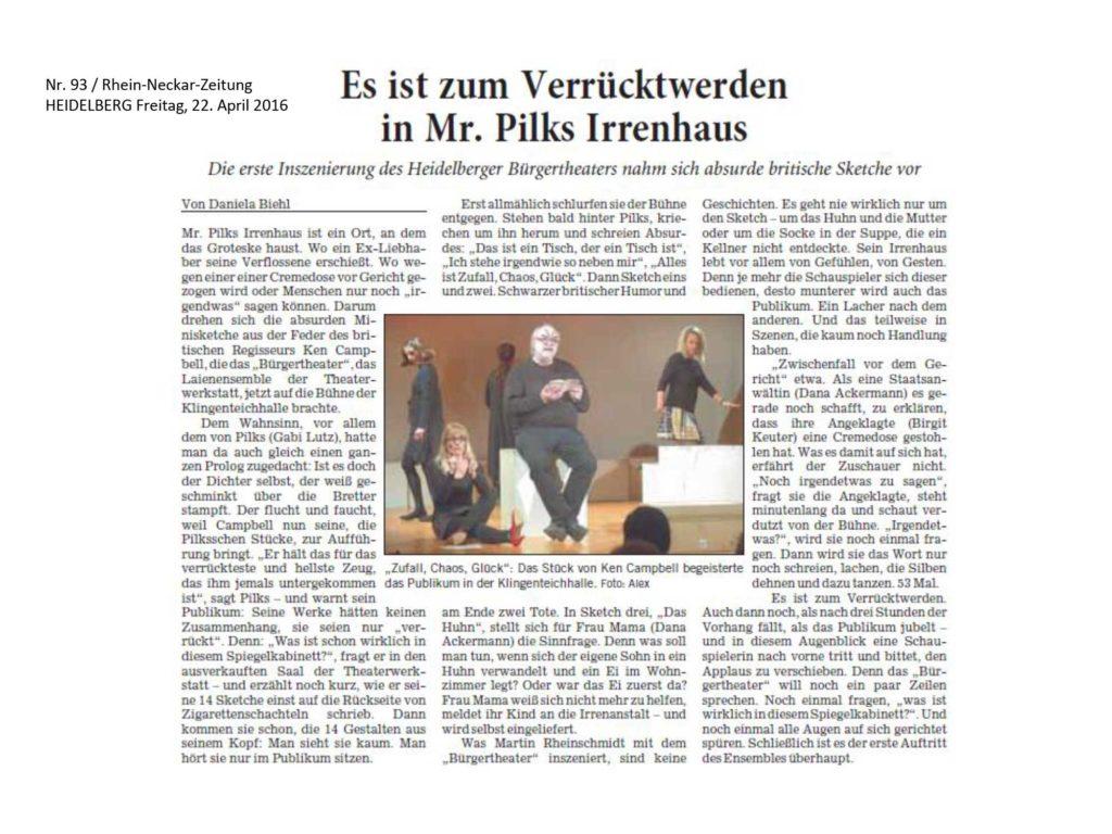 Presse_RNZ_Mr_Pilks_Irrenhaus_TWHD